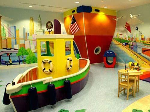 Kindergarten Spielzimmer