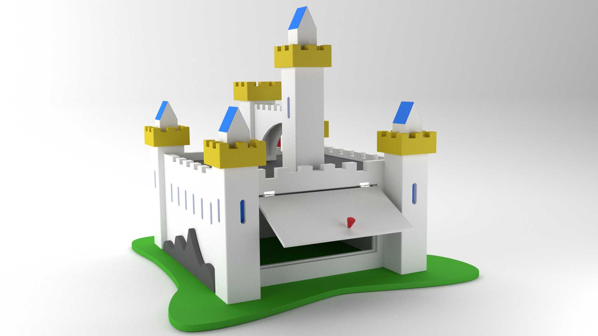 Model Burg Camelot Vista 3