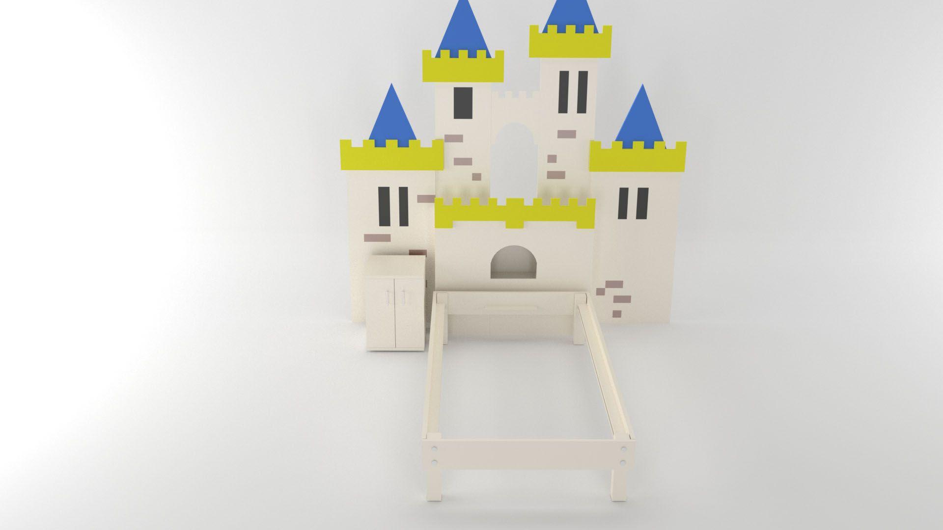 Model Camelot Bett Vista 3