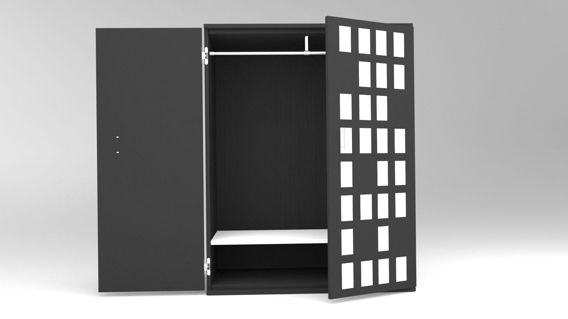 Model NewYork Kleiderschrank Vista 3
