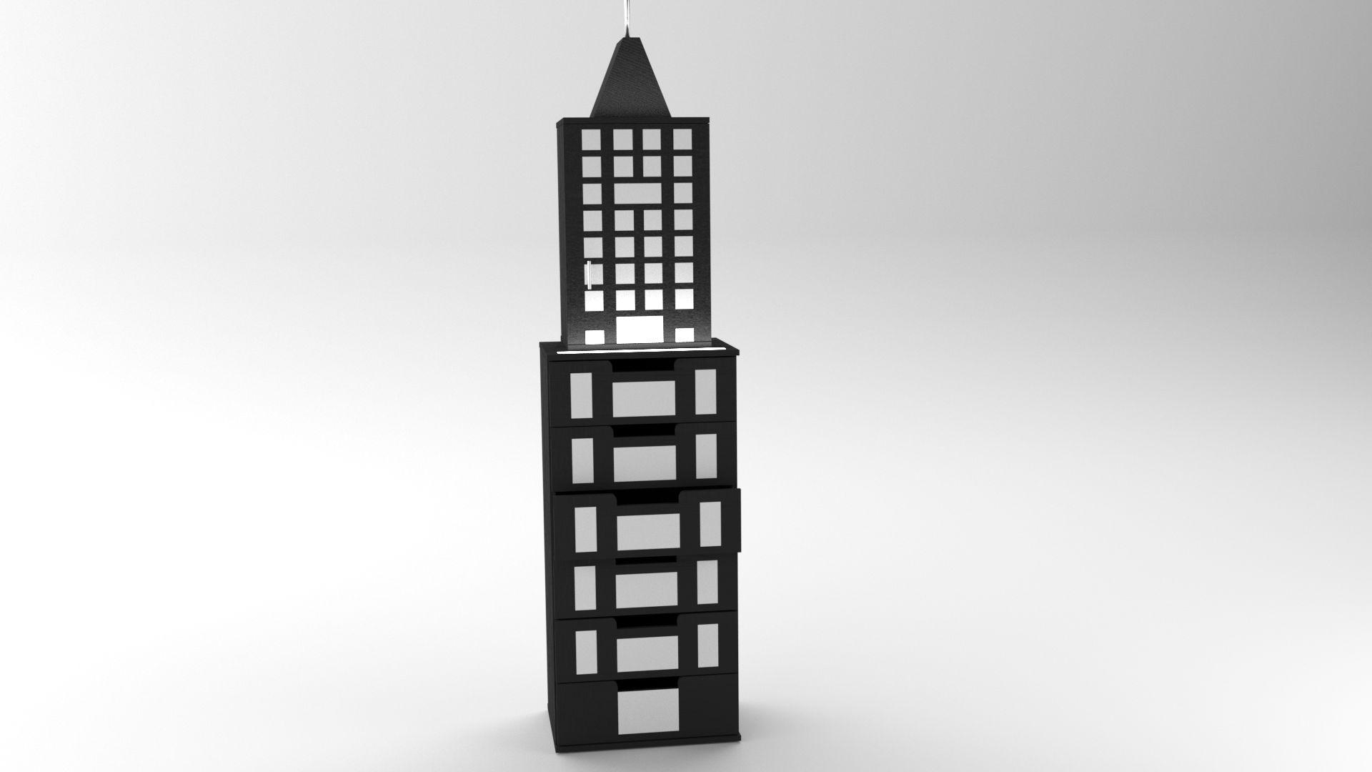 Model NewYork Kommode Vista 1