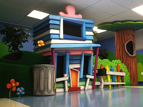 Themed Area - Small Indoor Playground
