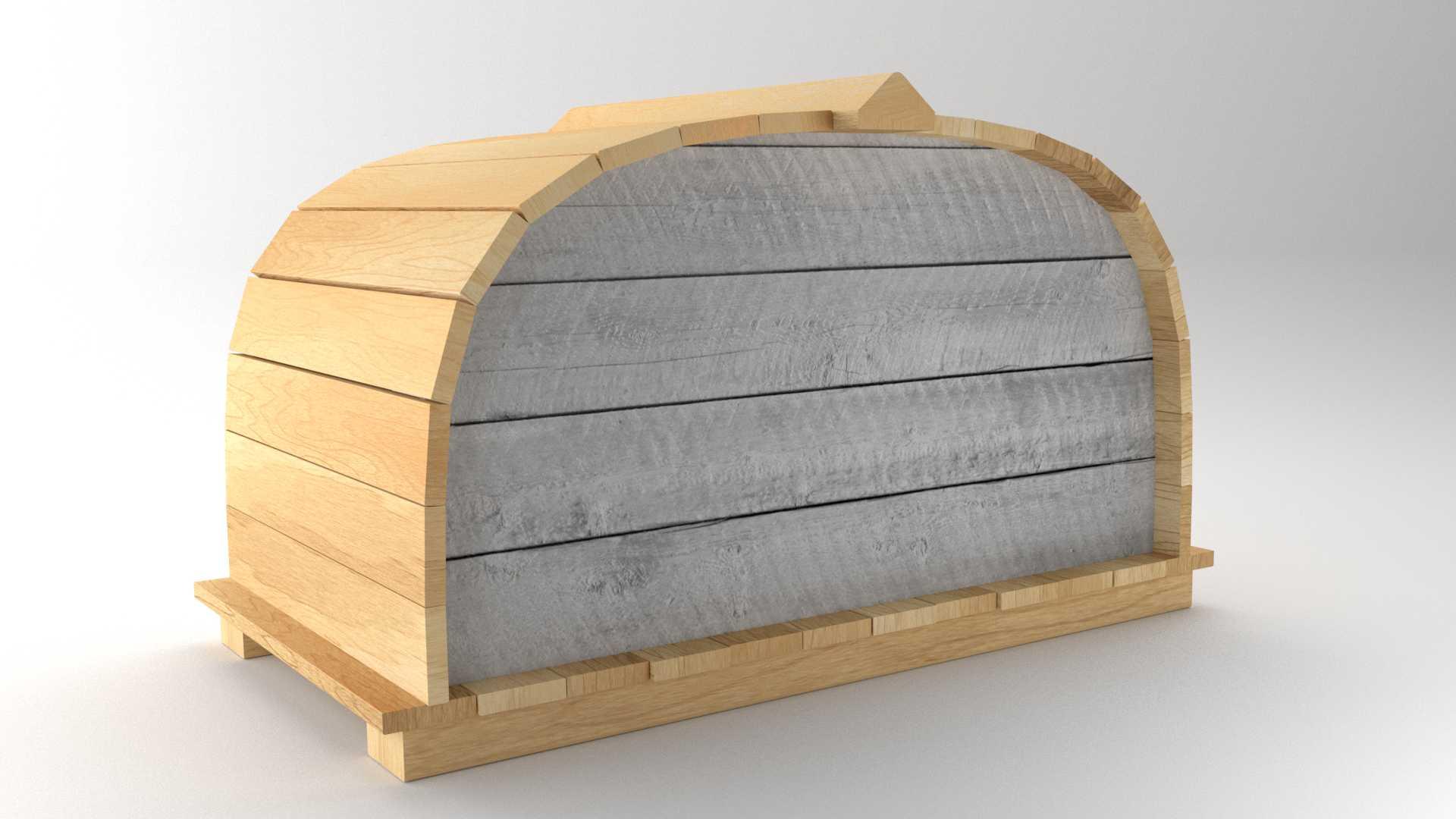 Model Boat Hut Vista 2