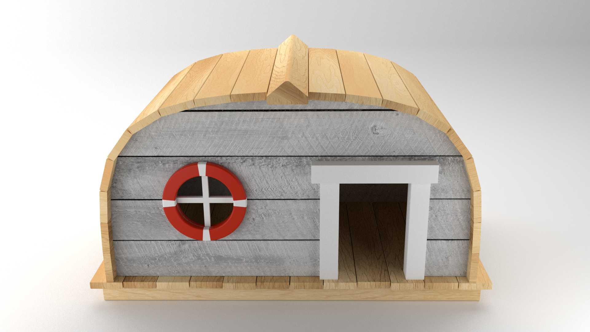 Model Boat Hut Vista 3