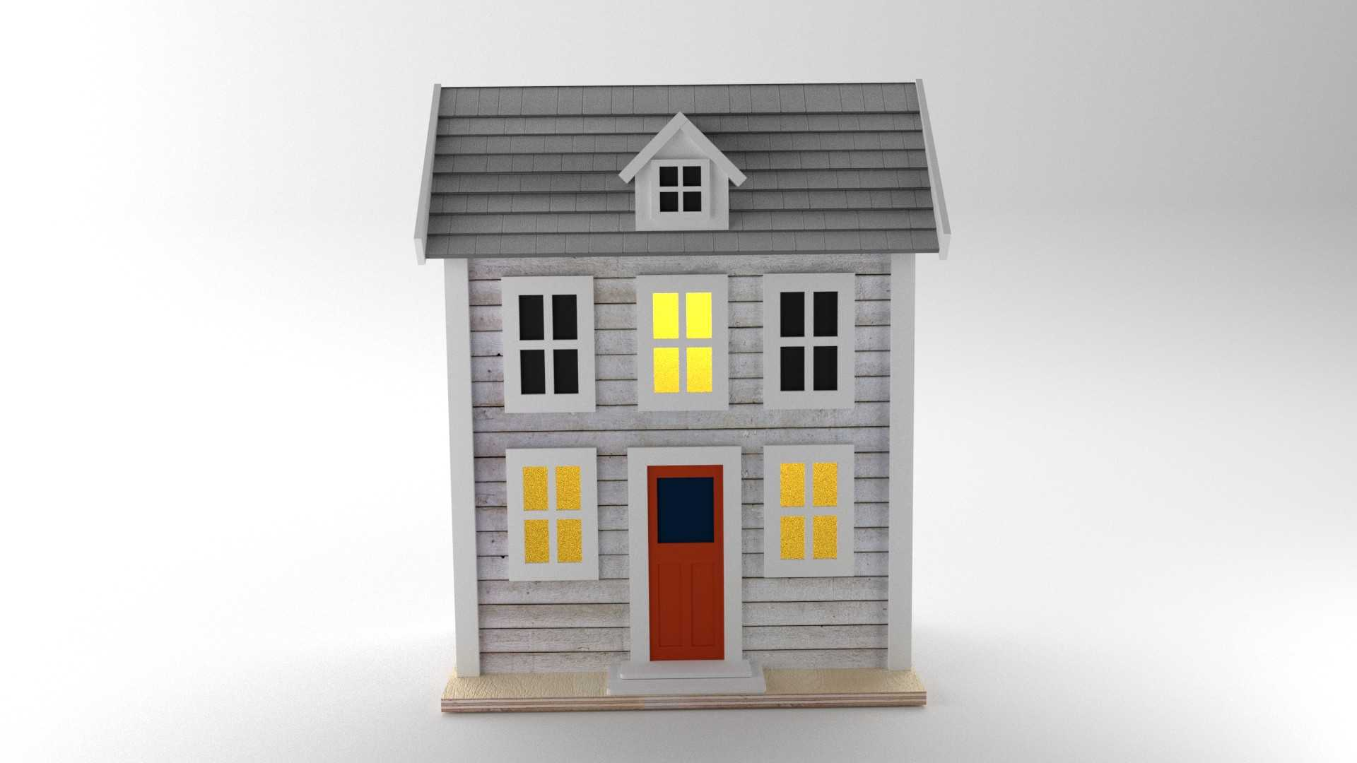 Model USA House Vista 1