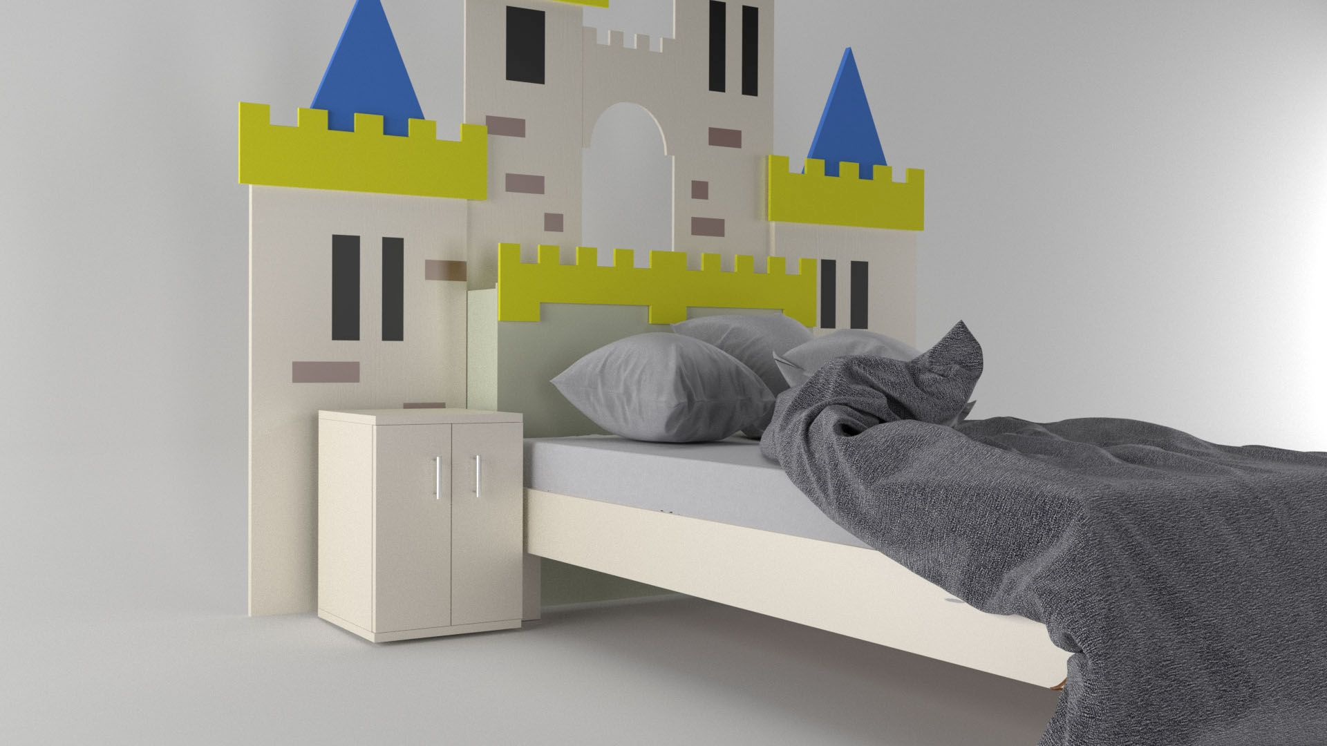 Model Camelot Bed Vista 2