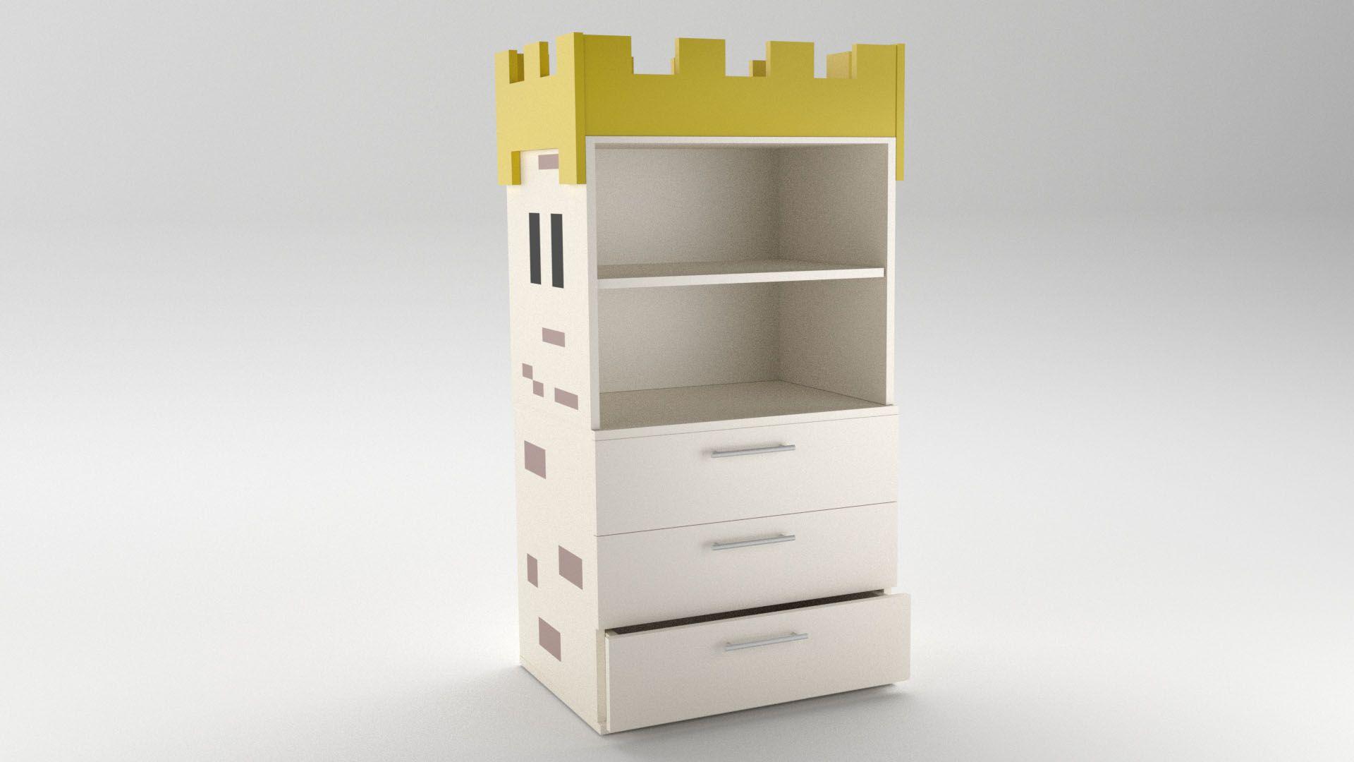 Model Camelot CabinetShelf Vista 1
