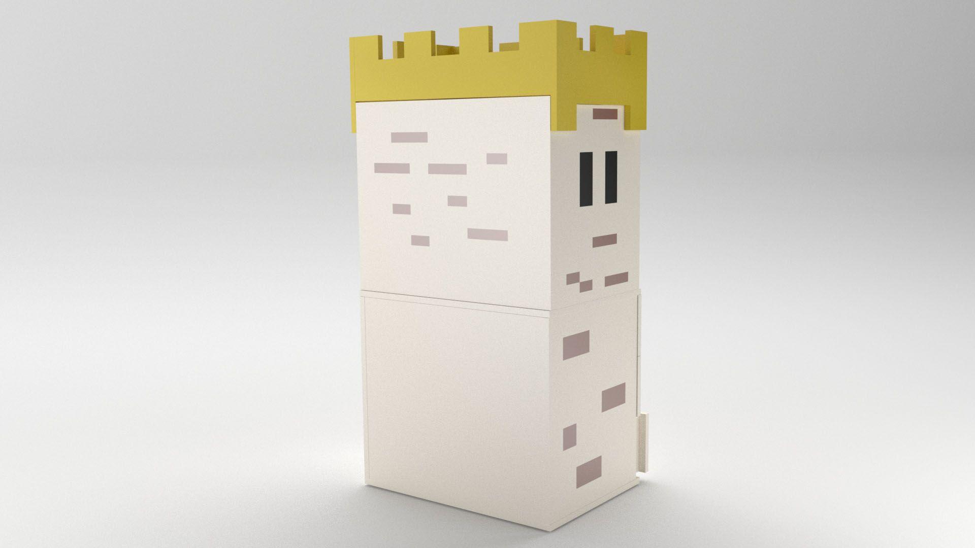 Model Camelot CabinetShelf Vista 2