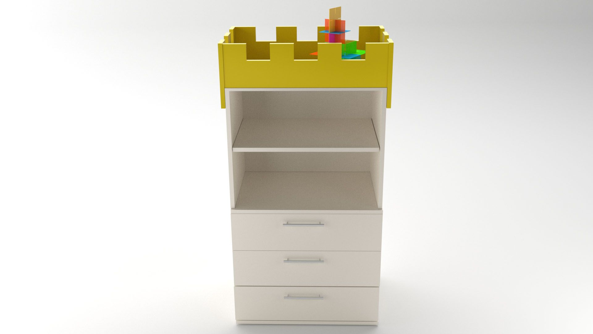 Model Camelot CabinetShelf Vista 3