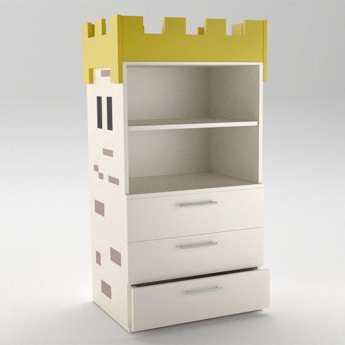 Kids Bedrooms Camelot CabinetShelf