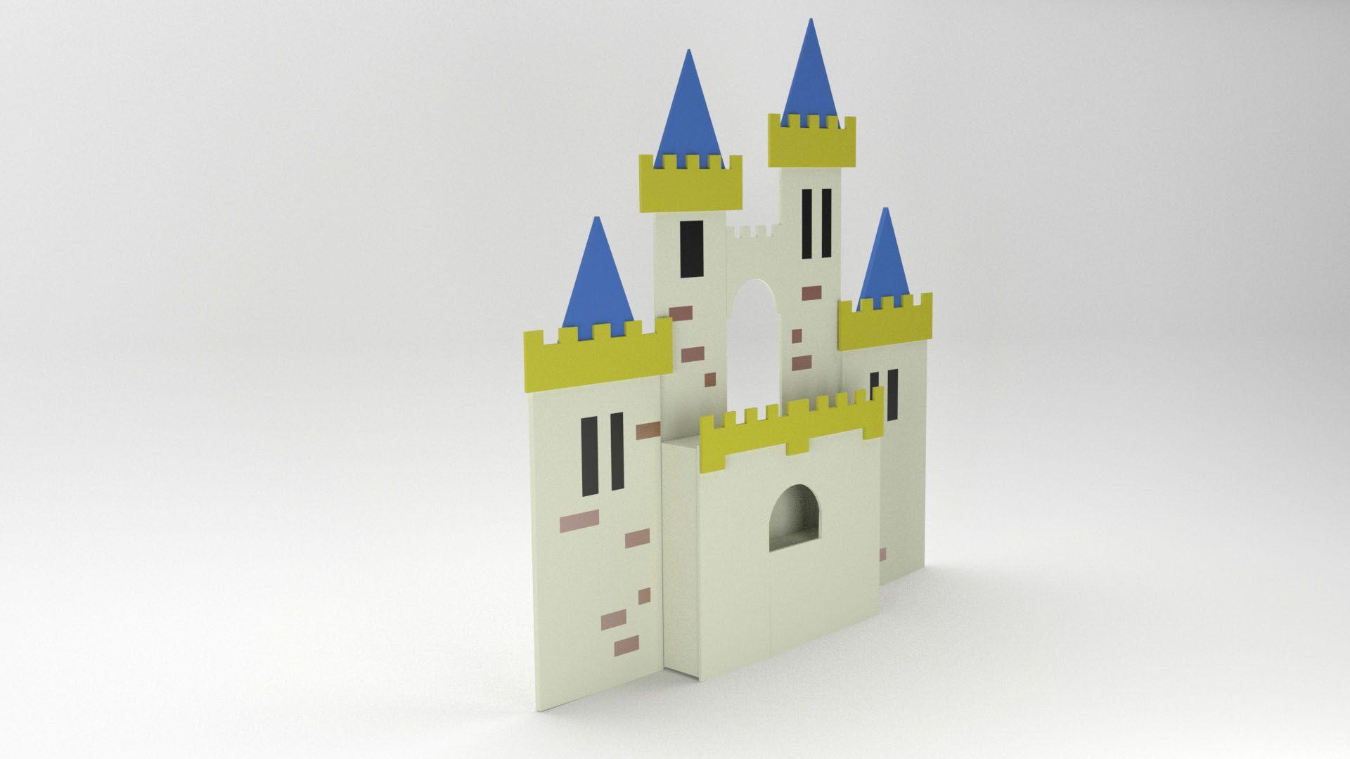 Model Camelot Headboard Vista 1