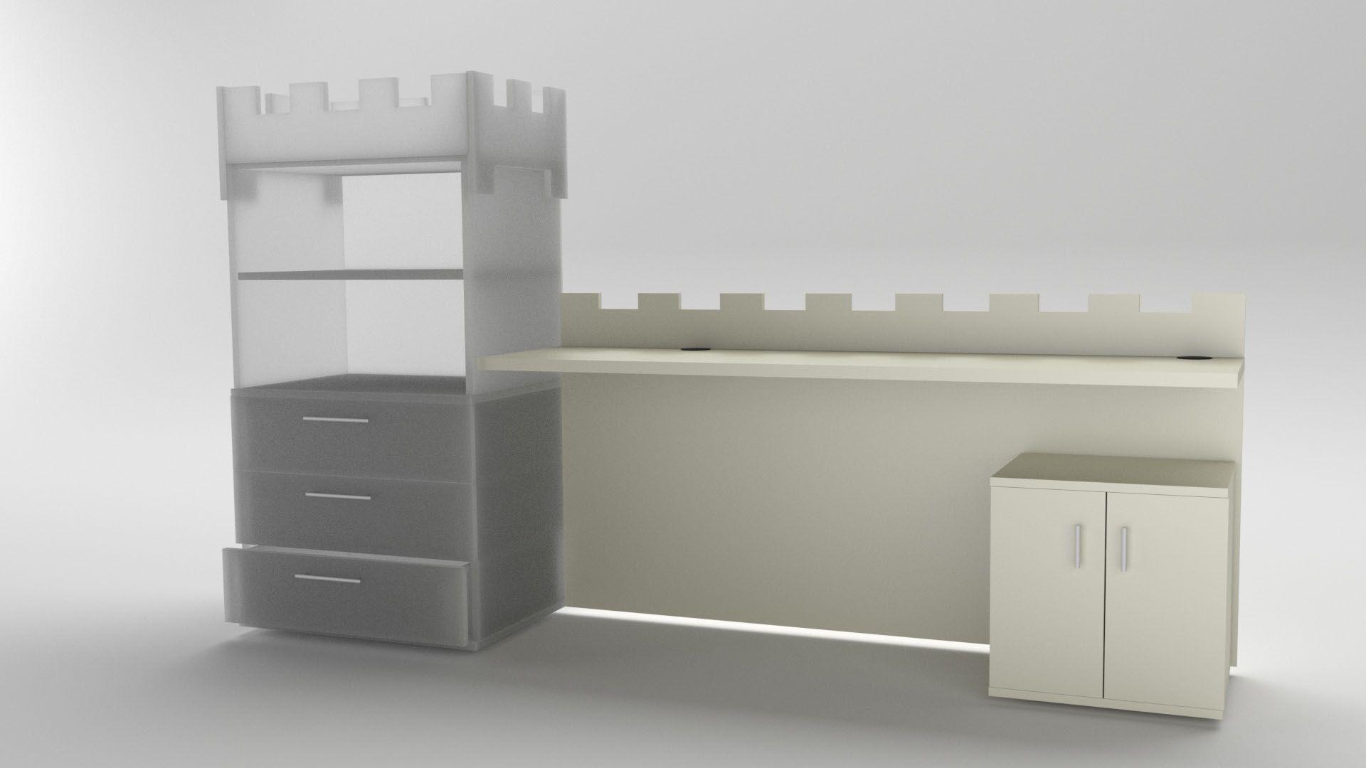 Model Camelot Table Vista 2