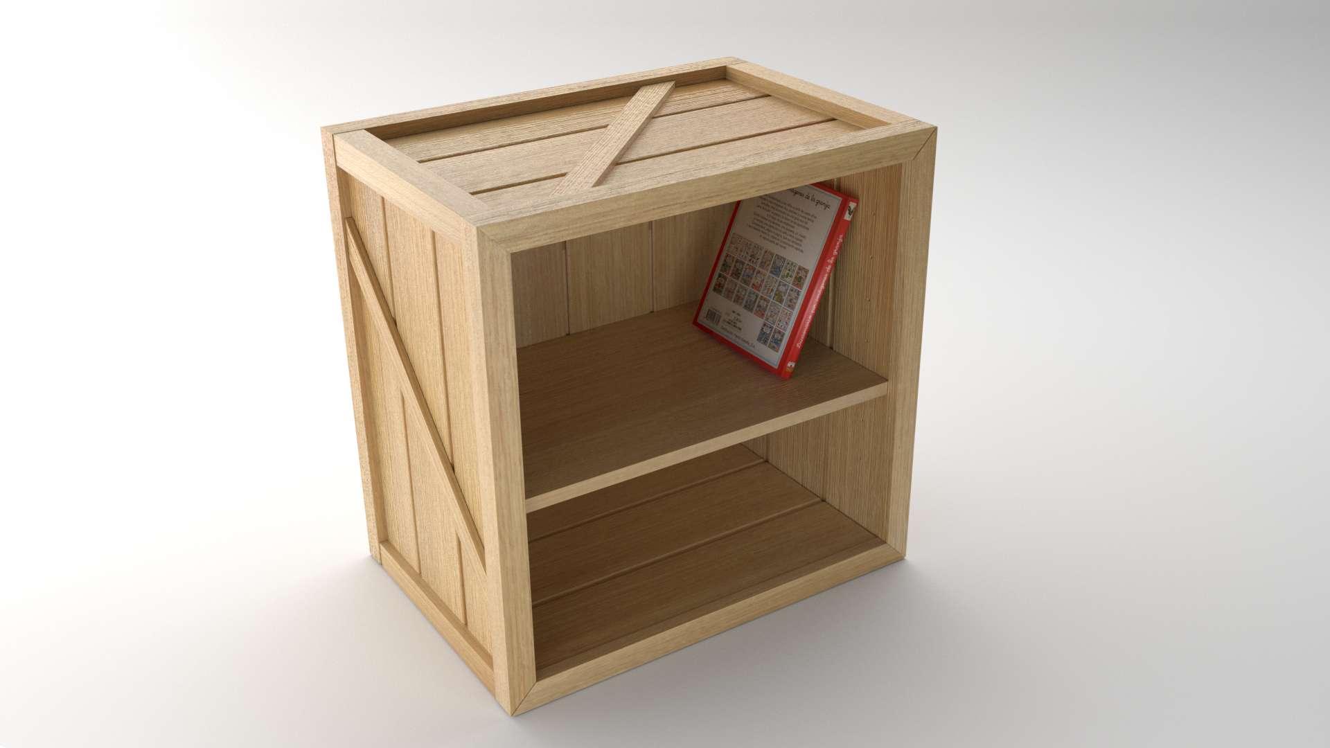 Model Crusoe CabinetShelf Vista 2