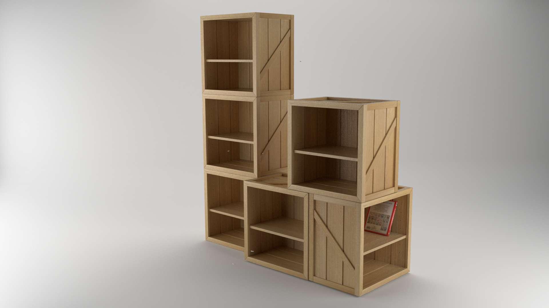 Model Crusoe CabinetShelf Vista 3