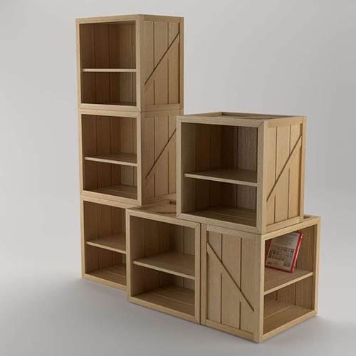 Kids Bedrooms Crusoe CabinetShelf
