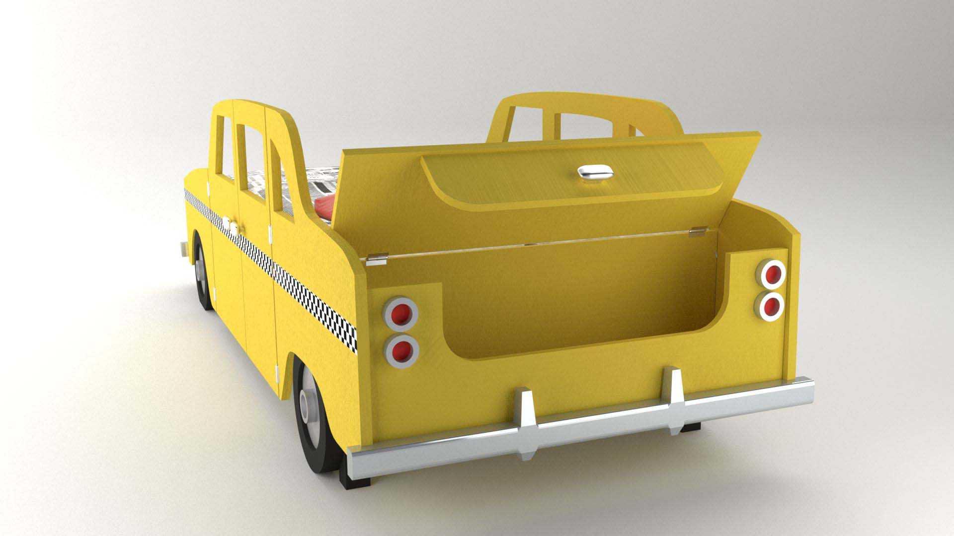 Model NewYork Bed Vista 2