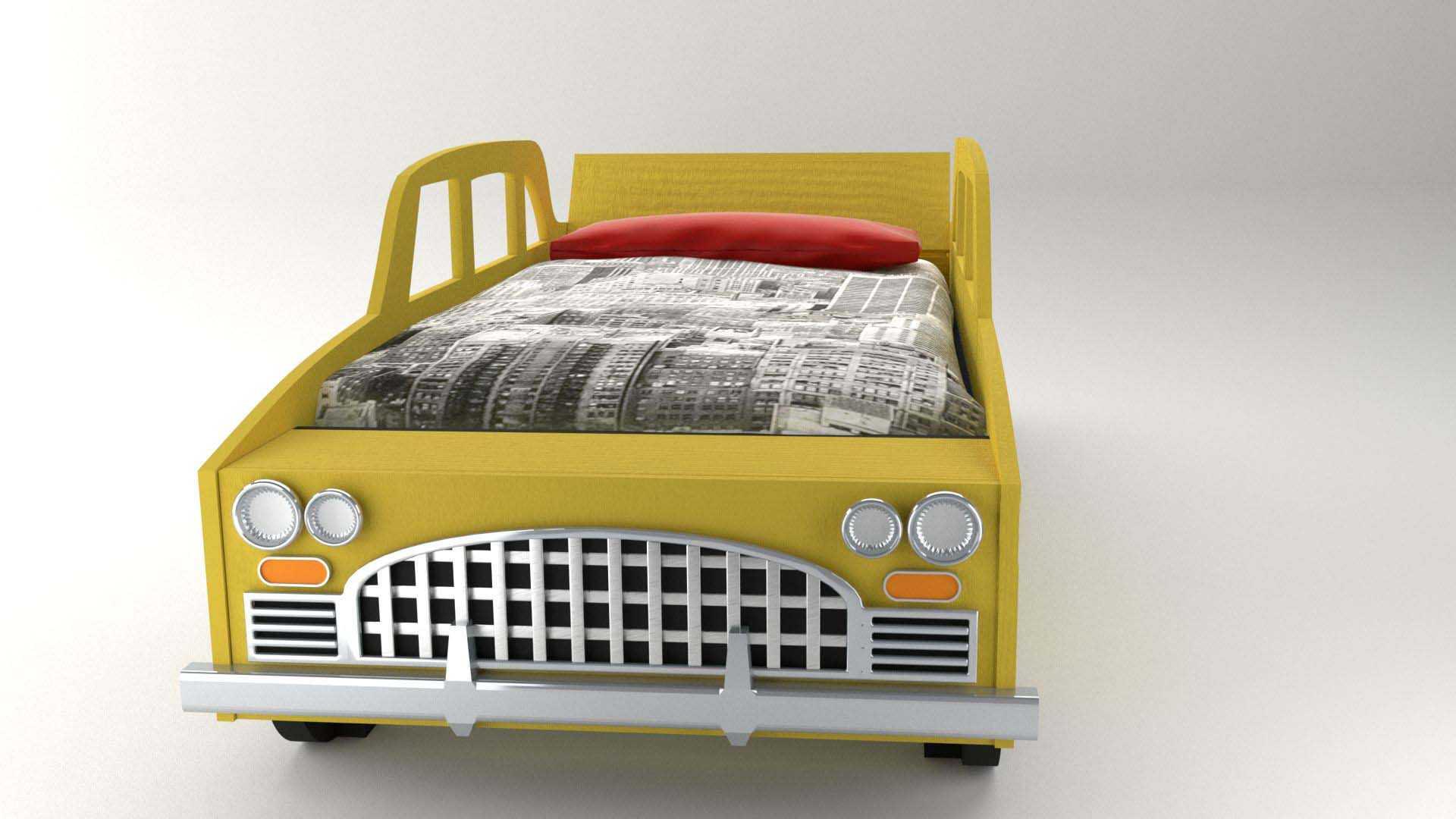 Model NewYork Bed Vista 3