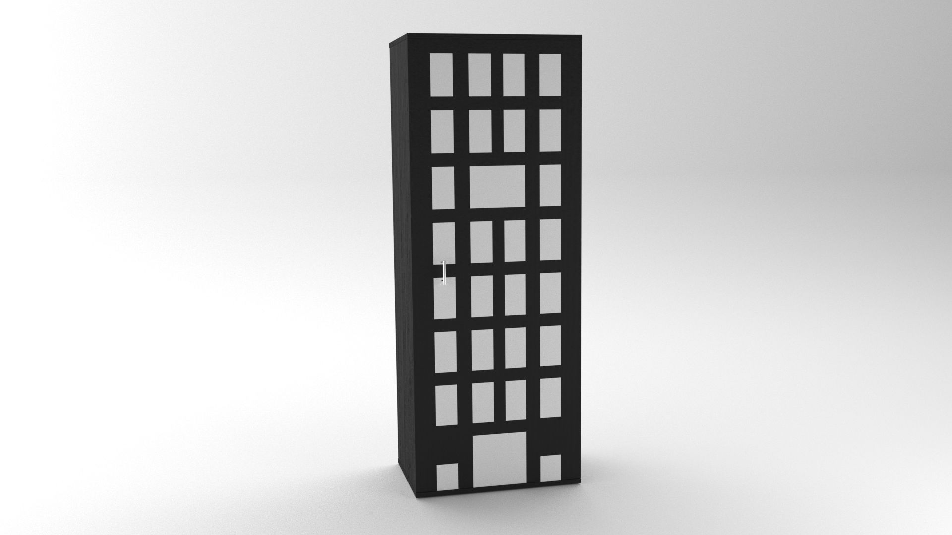 Model NewYork CabinetShelf Vista 1