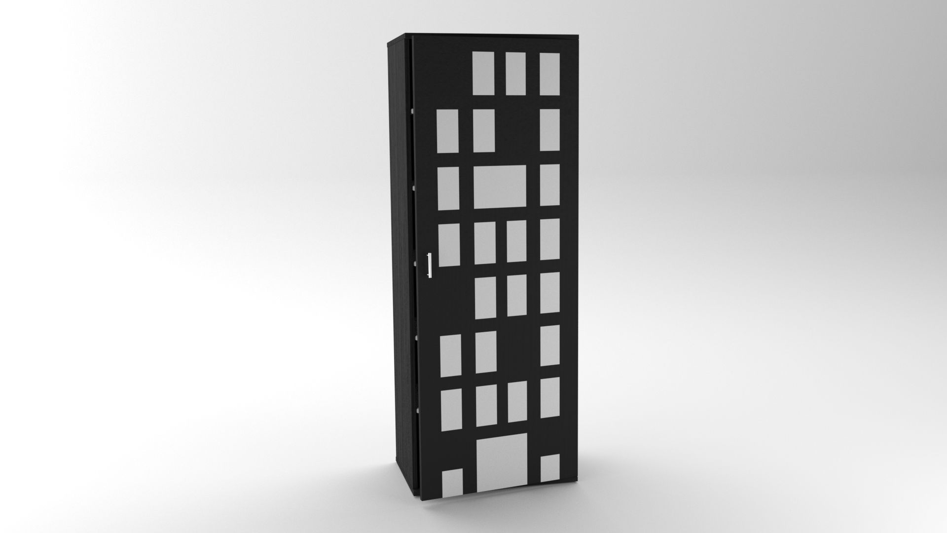 Model NewYork CabinetShelf Vista 3
