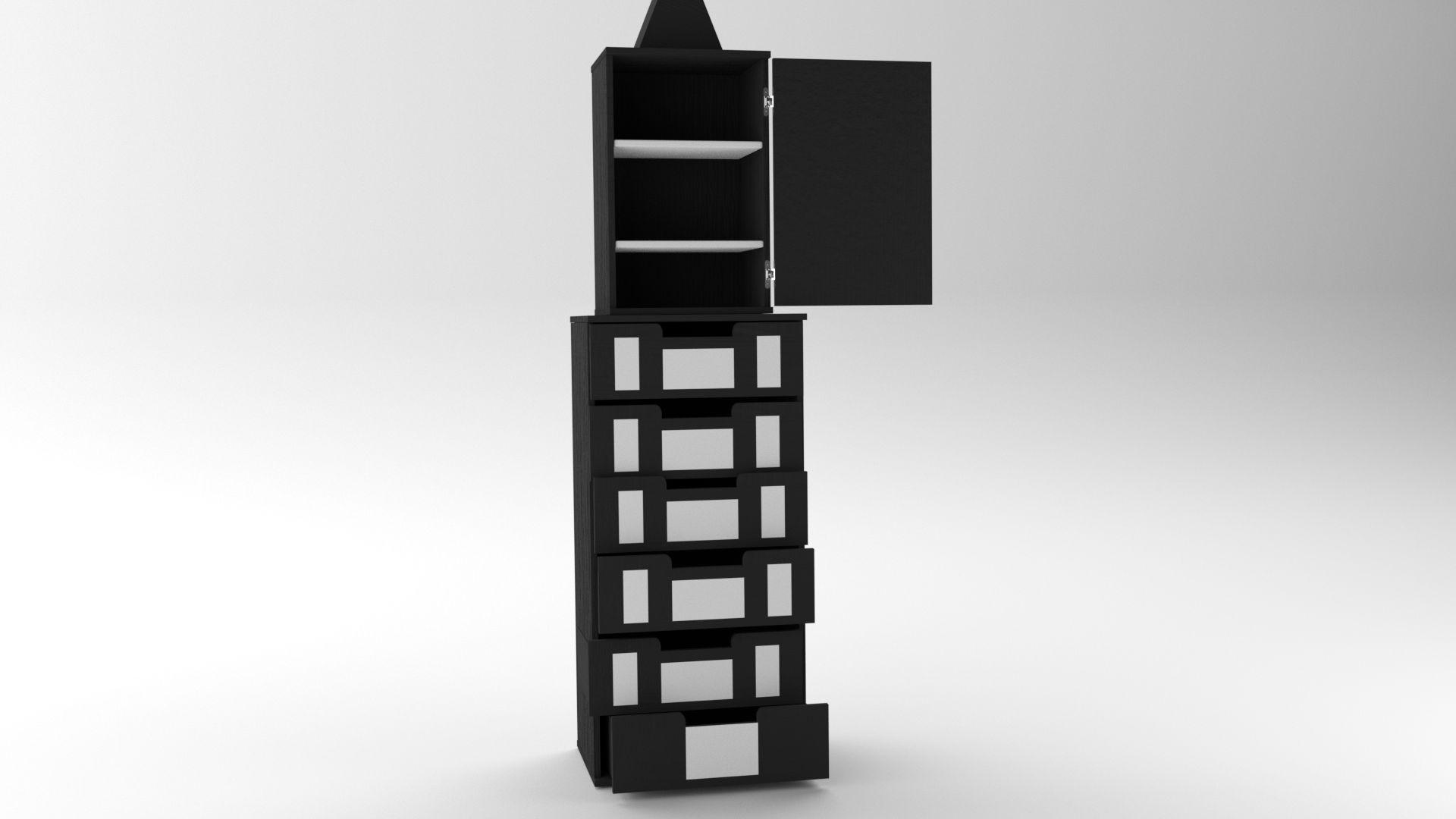Model NewYork Drawer Vista 3