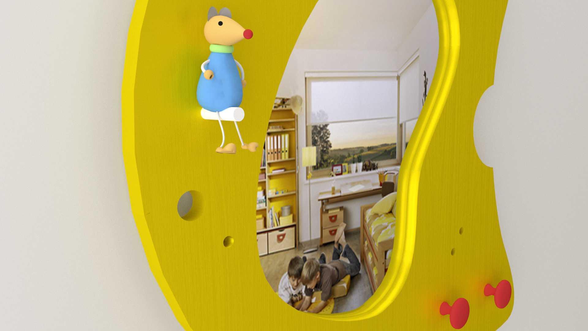 Model Cheese Mirror Vista 3
