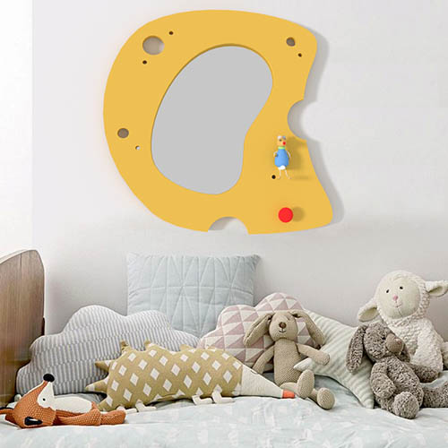 Kids Decorations Cheese Mirror