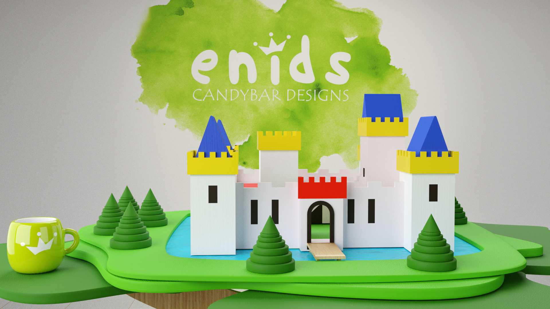 Model Camelot Castle Vista 1