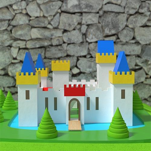 Party Decorations Camelot Castle