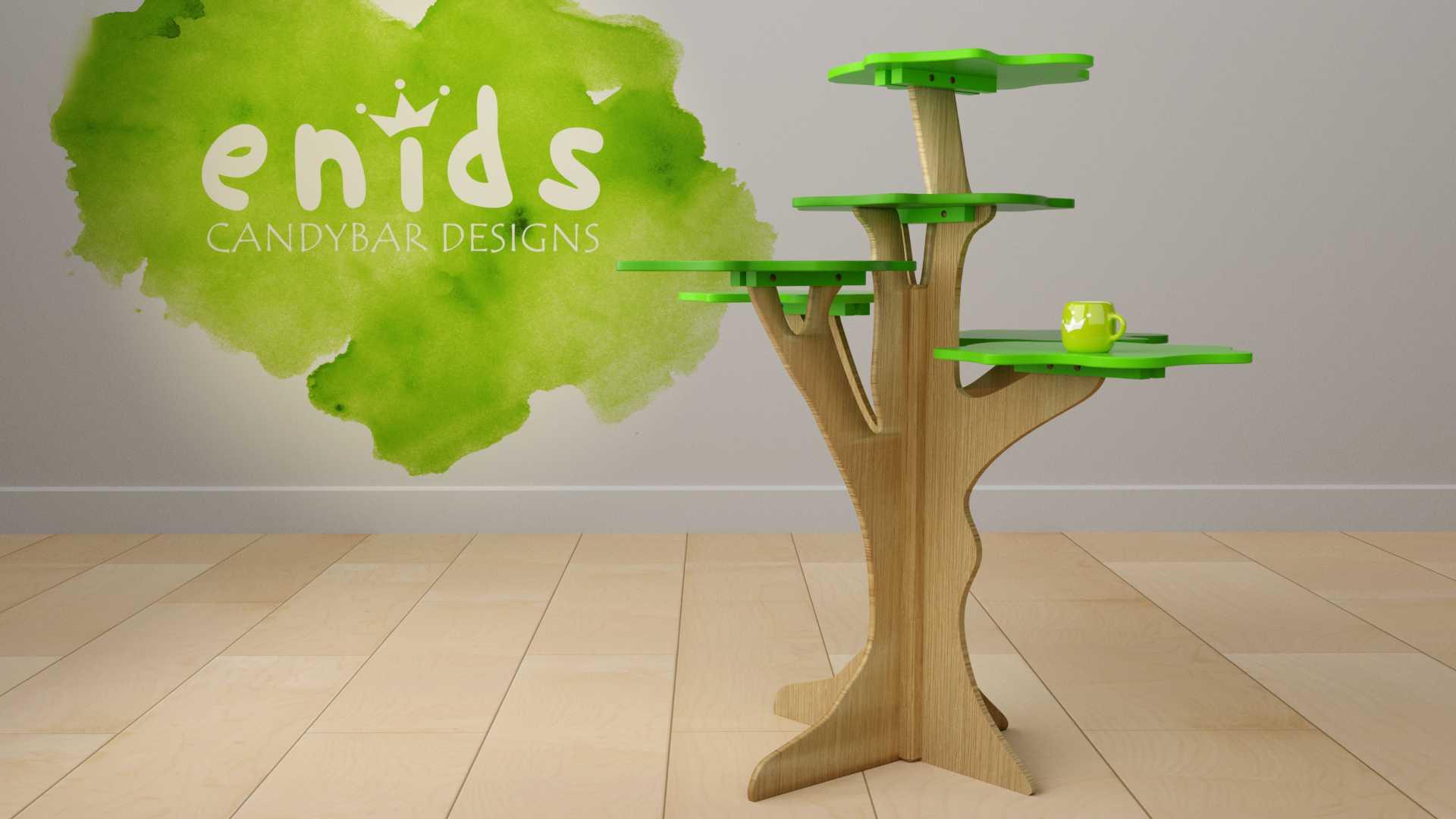 Model Rainforest Table Vista 1