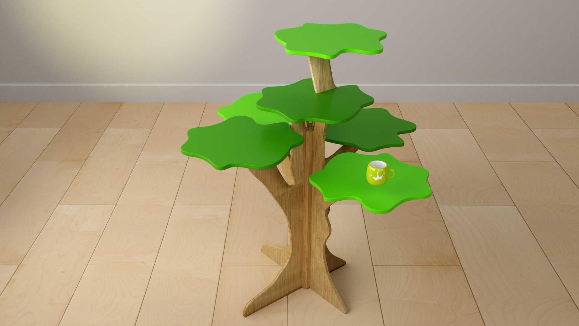 Model Rainforest Table Vista 2