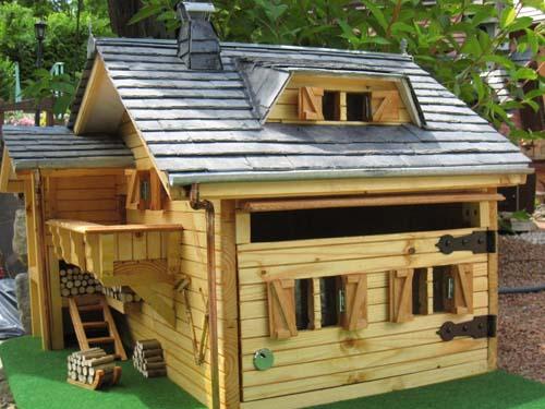 Buzón casa alpina