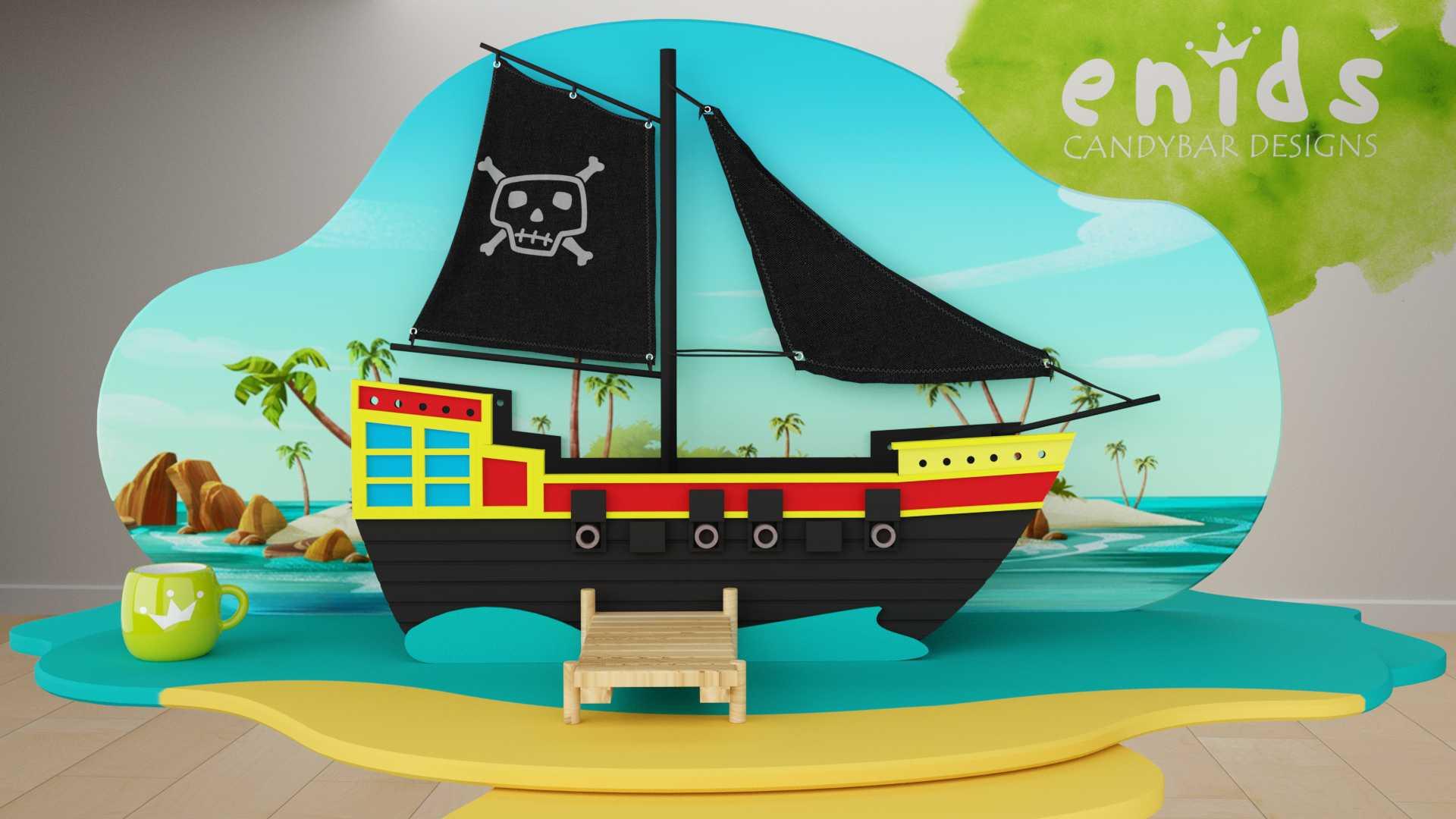 Modelo Isla Pirata Vista 1