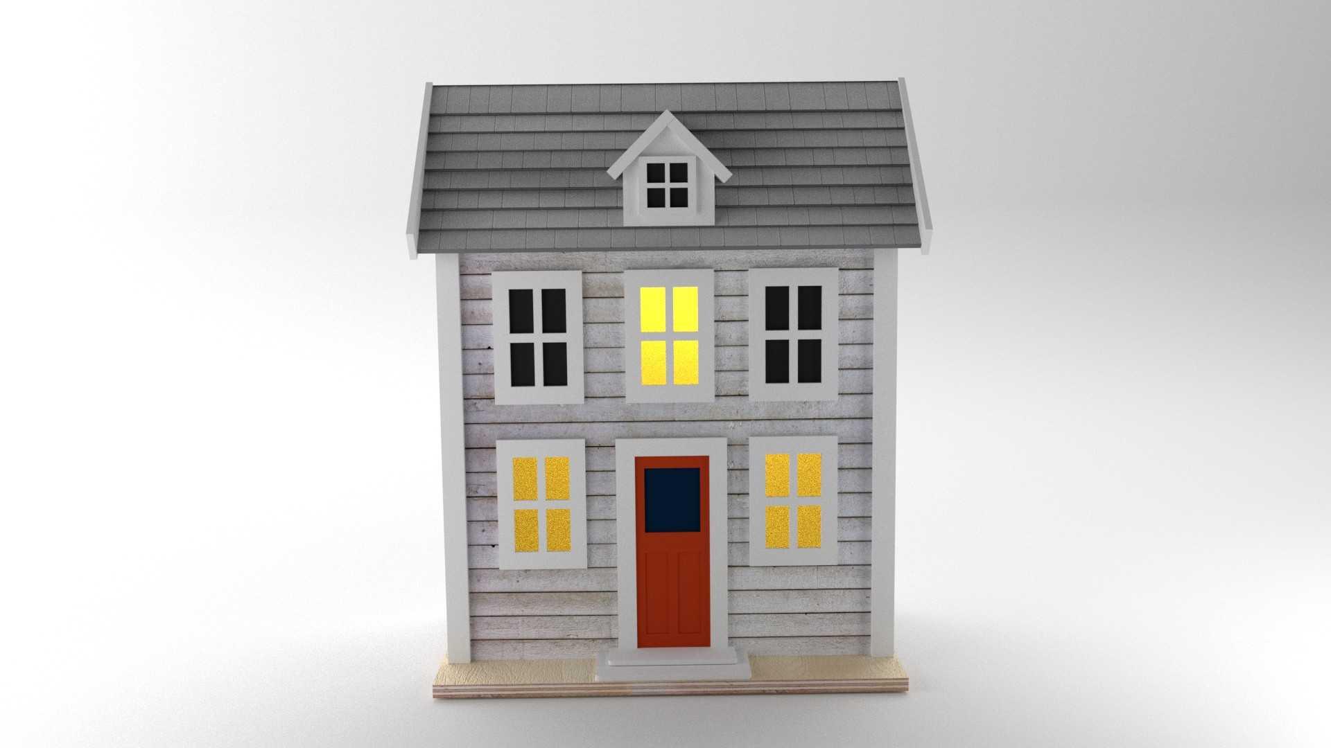 Modelo Casa USA Vista 1
