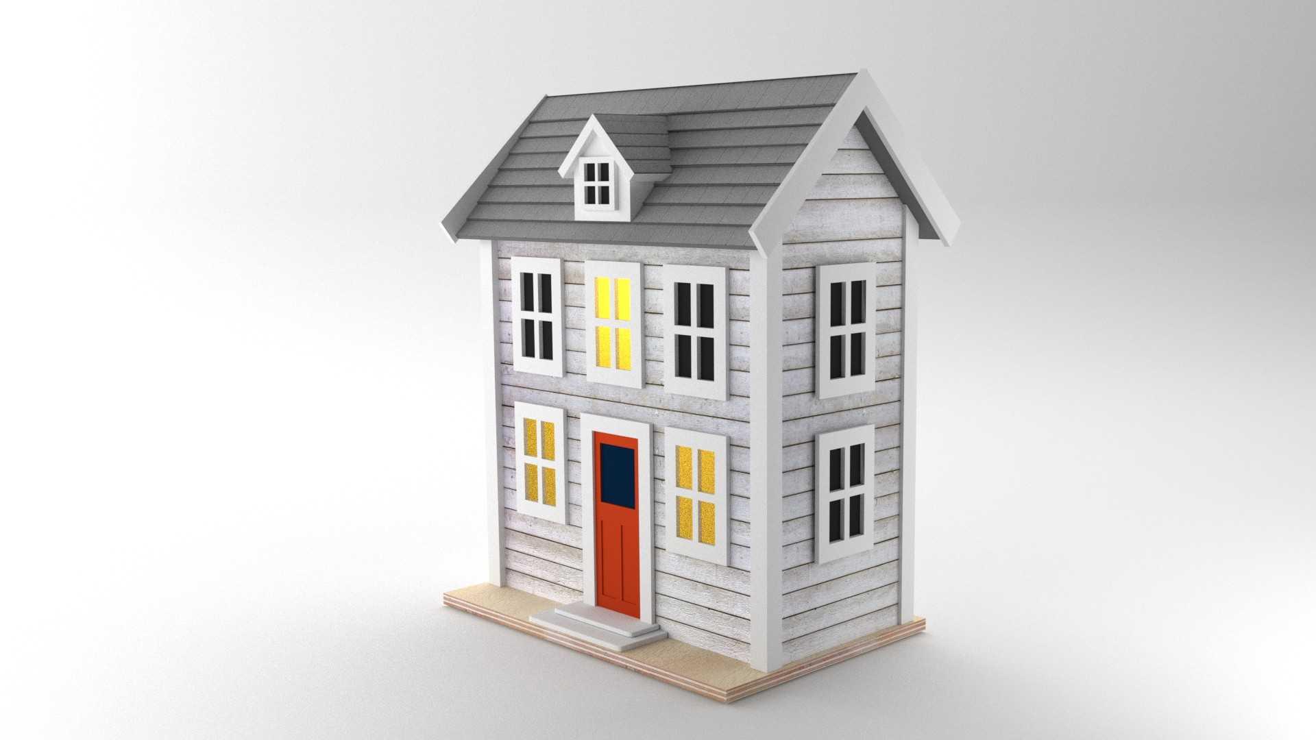 Modelo Casa USA Vista 2