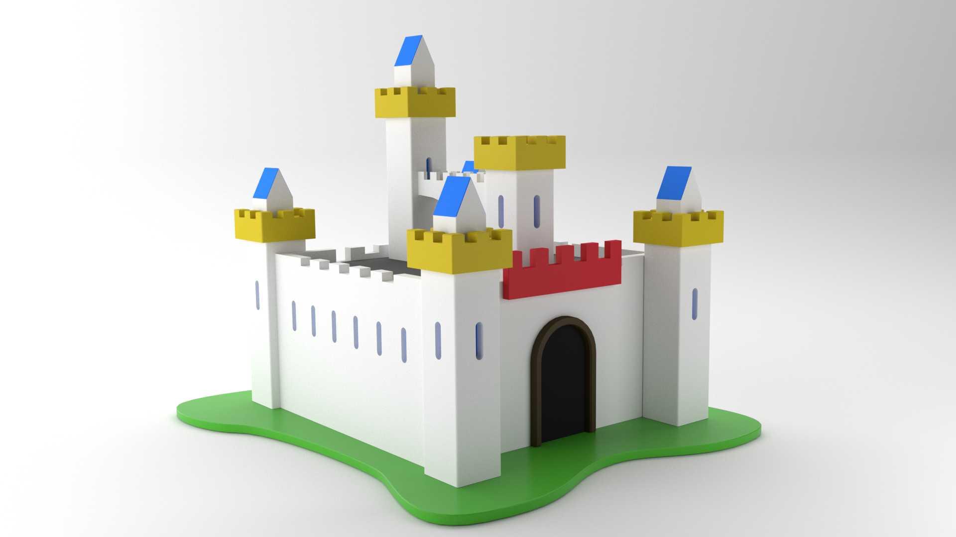 Modelo Castillo Camelot Vista 1