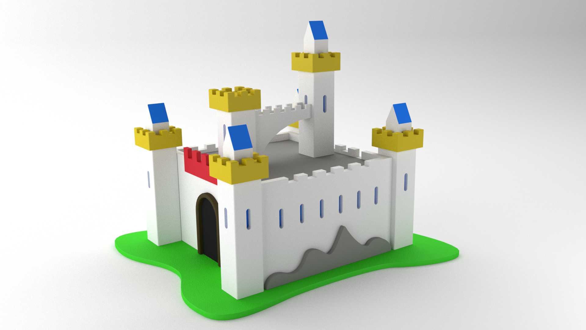 Modelo Castillo Camelot Vista 2