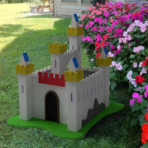 Decoracion Jardines Castillo Camelot