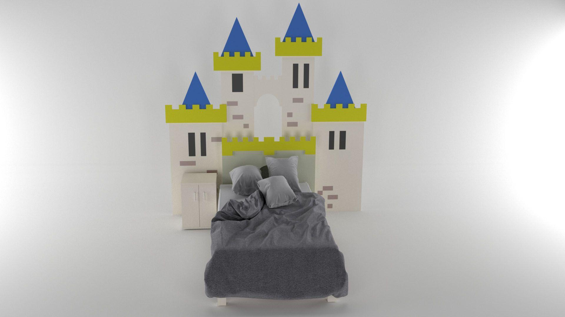 Modelo Cama Camelot Vista 1
