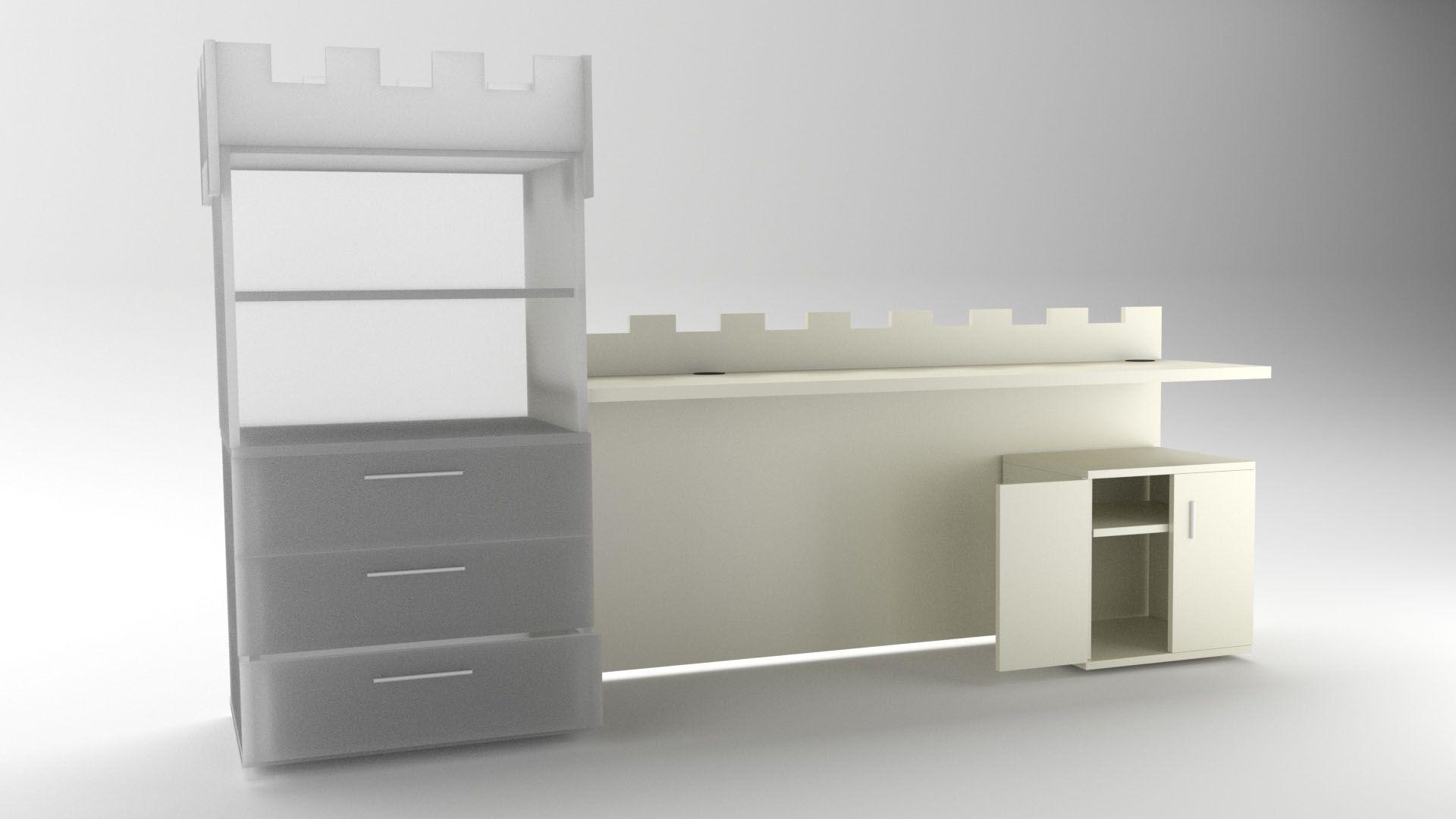 Modelo Mesa Camelot Vista 1