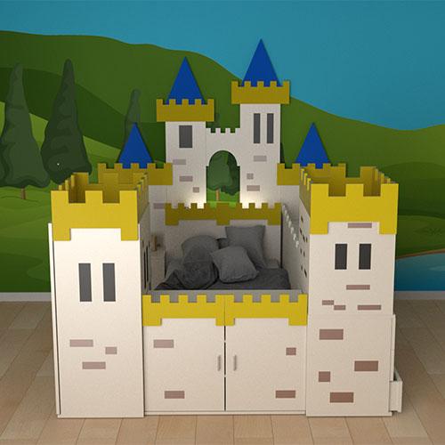 Habitaciones Infantiles Serie Camelot